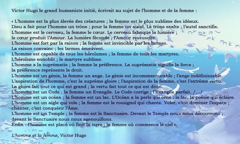 Poèmes Sur La Vie * Victor Hugo
